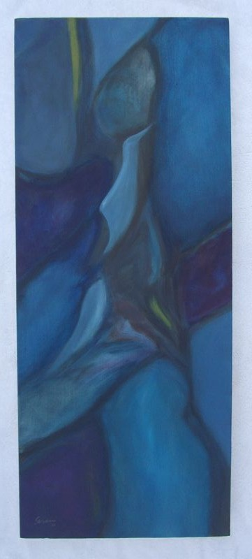 "New Beginning Oil (30"" x 12"") 2012"