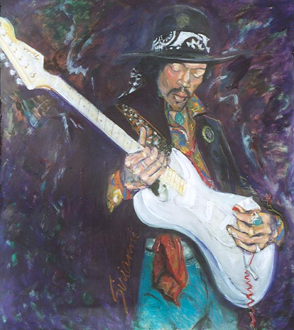 Jimi Hendrix, for a Friend