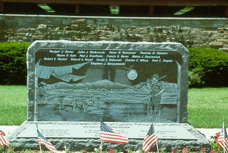 West Seneca Vietnam Memorial (1985)