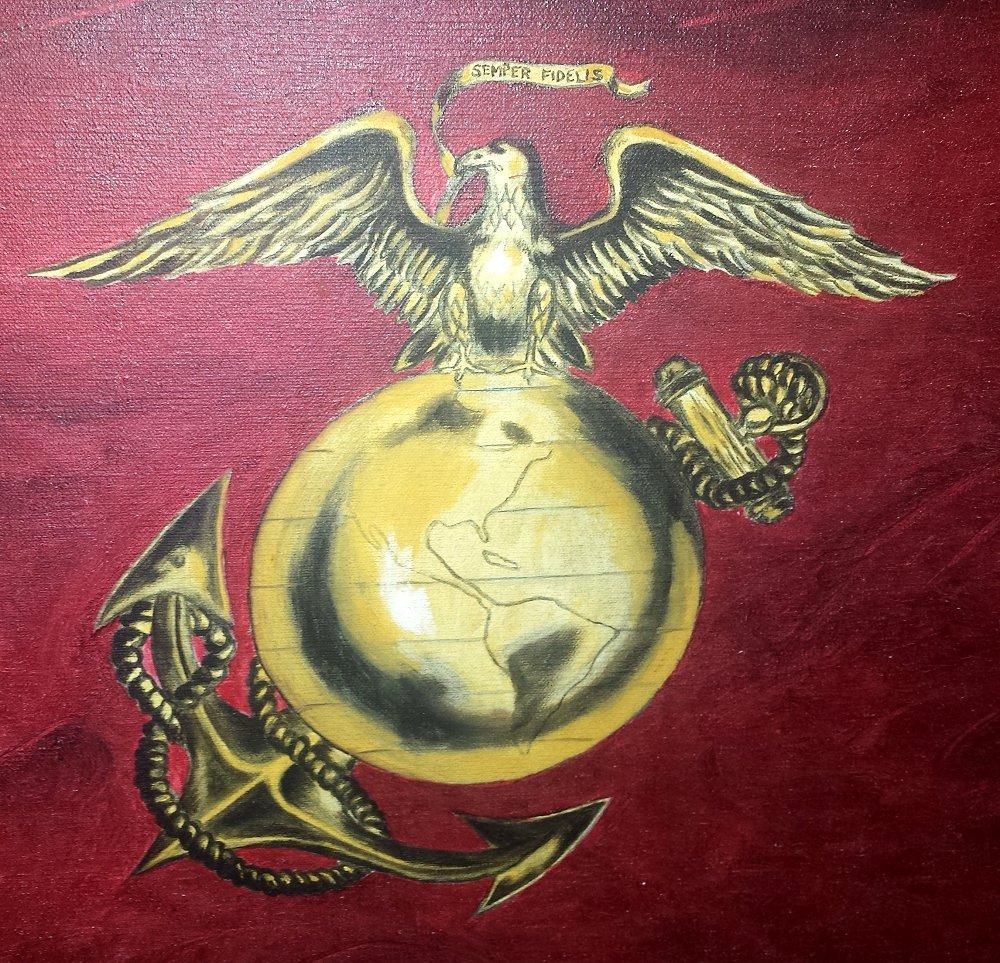 EGA ( Eagle, Globe and Anchor )