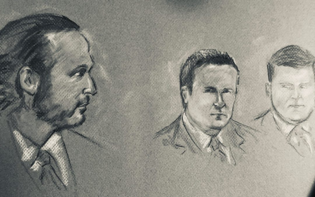 Courtroom Drawings for Documentary