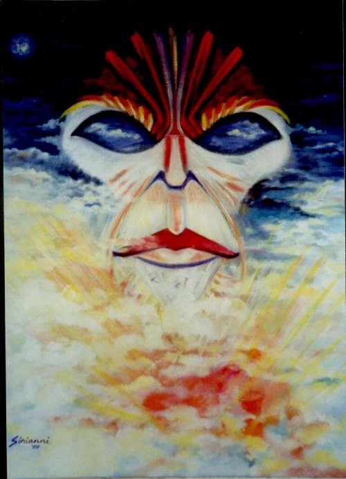 African Masks – Miles Davis & Self-Portrait