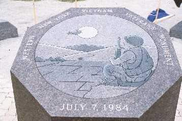 Western New York Vietnam Memorial Centerpiece (1984)